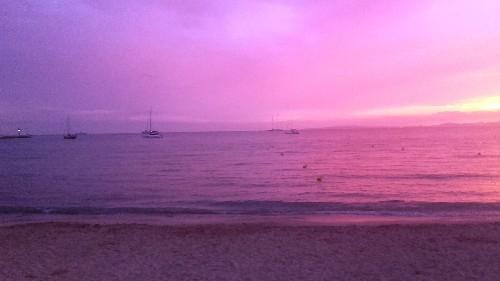 Mallorca Urlaubsbild - Abendstimmung auf Mallorca