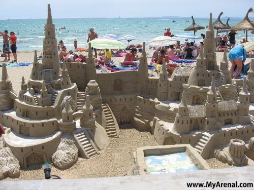 Mallorca Urlaubsbild - Burgenbauer