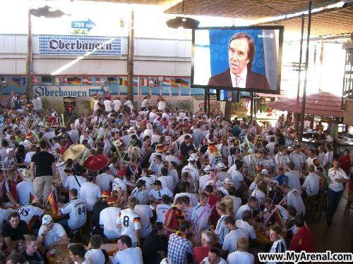 Mallorca Urlaubsbild - EM 2008 Bierkönig