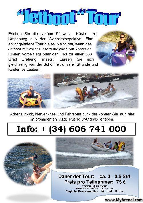 Mallorca Urlaubsbild - Jetboot tour