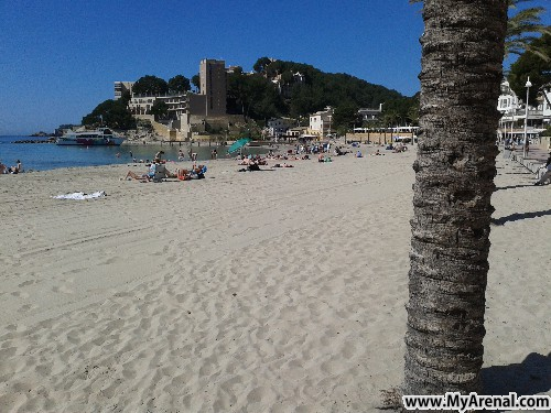 Mallorca Urlaubsbild - Paguera Strand