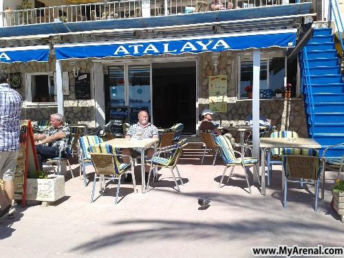 Mallorca Urlaubsbild - Paguera Strandcafe