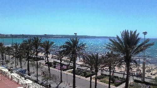 Mallorca Urlaubsbild - Playa de Palma 2016