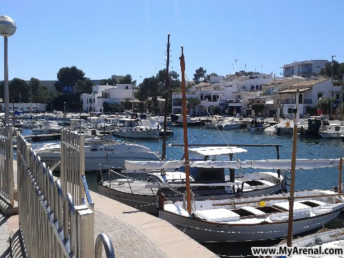 Mallorca Urlaubsbild - Porto Petro Hafen